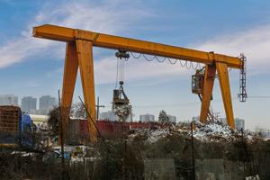 Trash crane